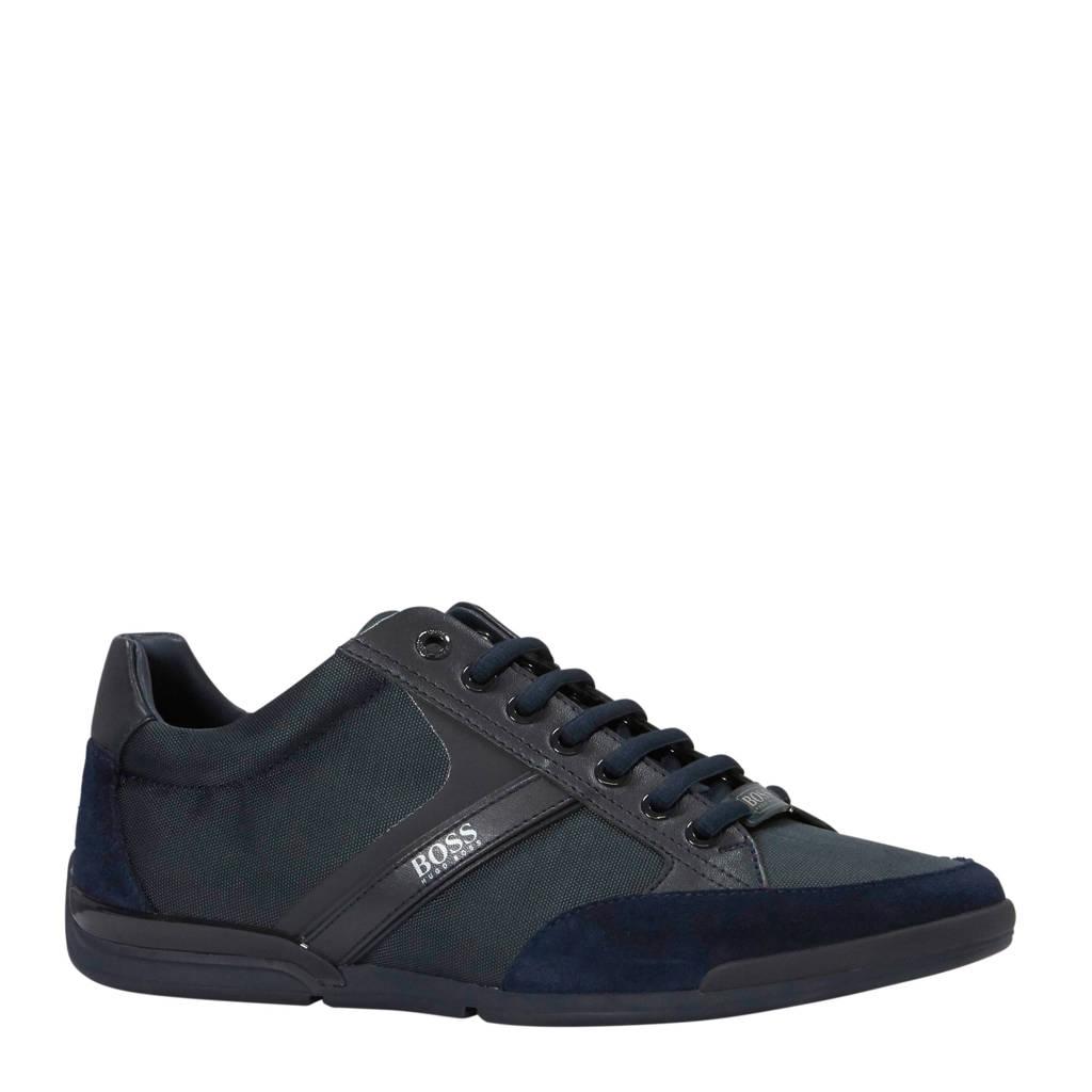 BOSS   sneakers donkerblauw, Donkerblauw