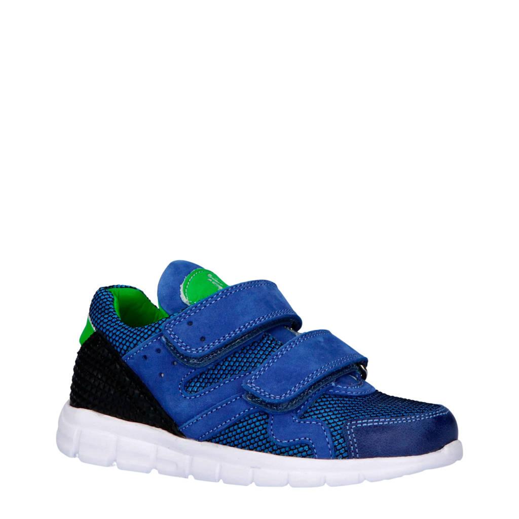 JOCHIE&FREAKS  sneakers blauw, Blauw/groen/zwart