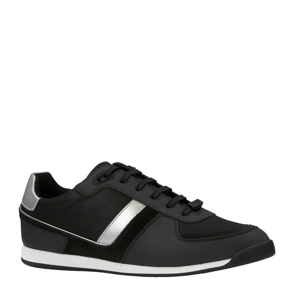 Boss Glaze sneakers zwart, Zwart