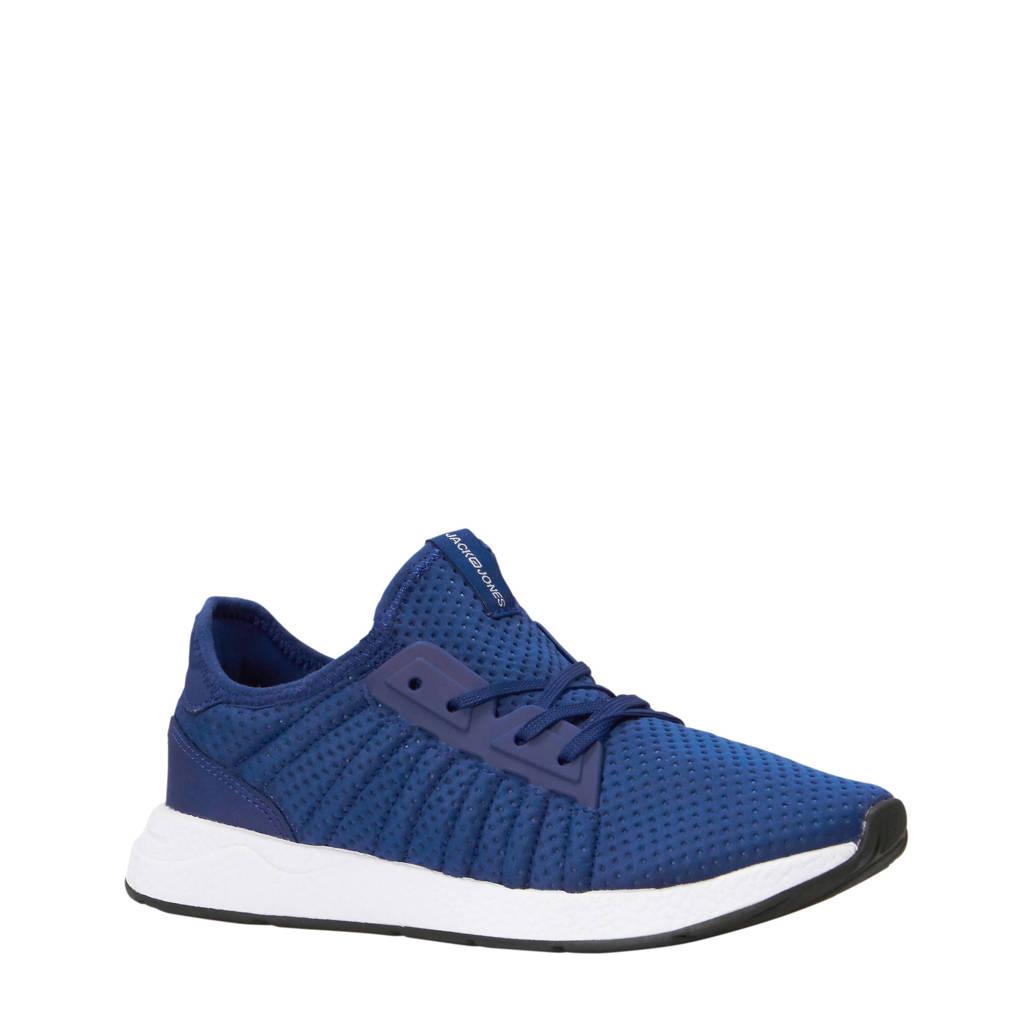 Jack & Jones  sneakers blauw, Blauw/wit