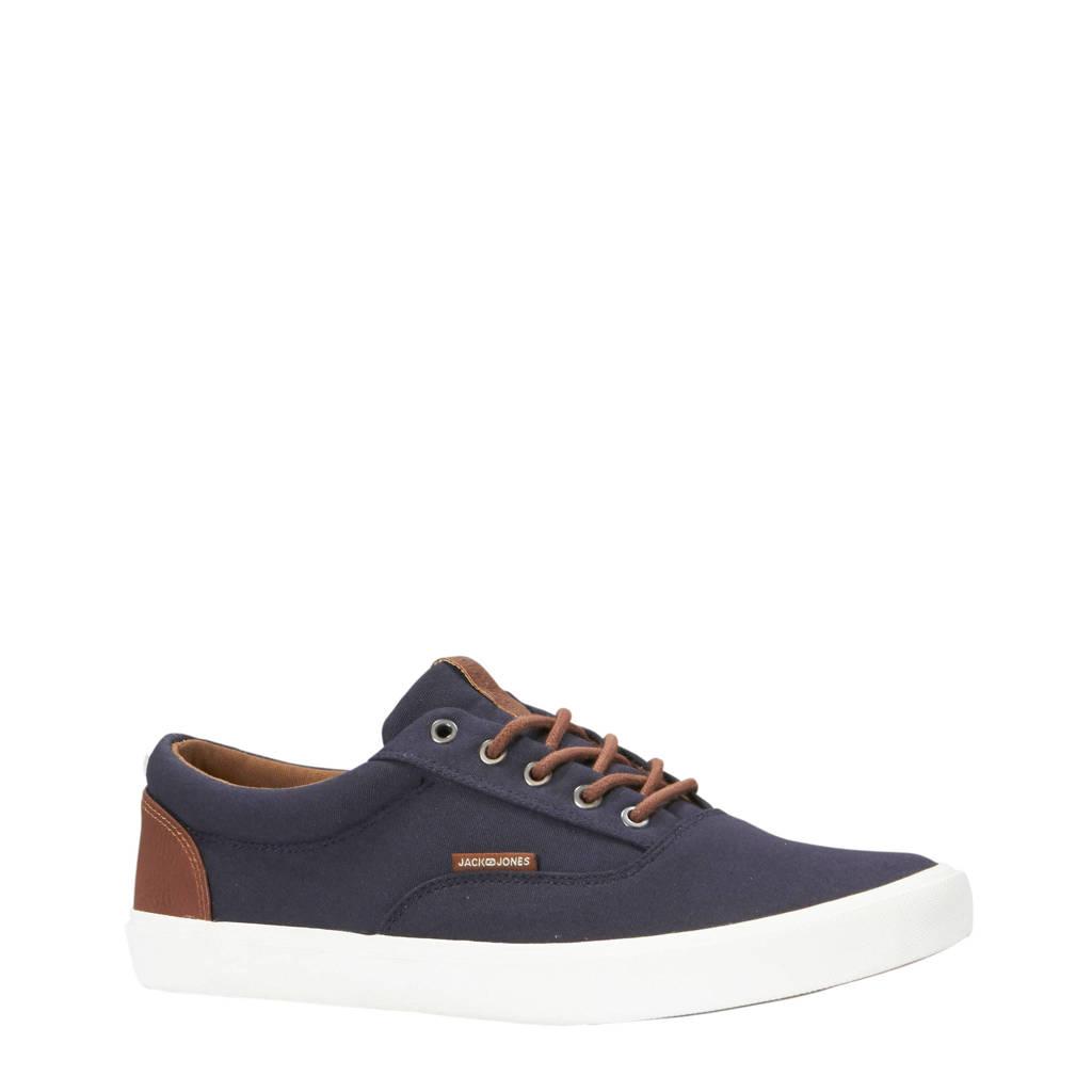 Jack & Jones   sneakers, Donkerblauw/bruin