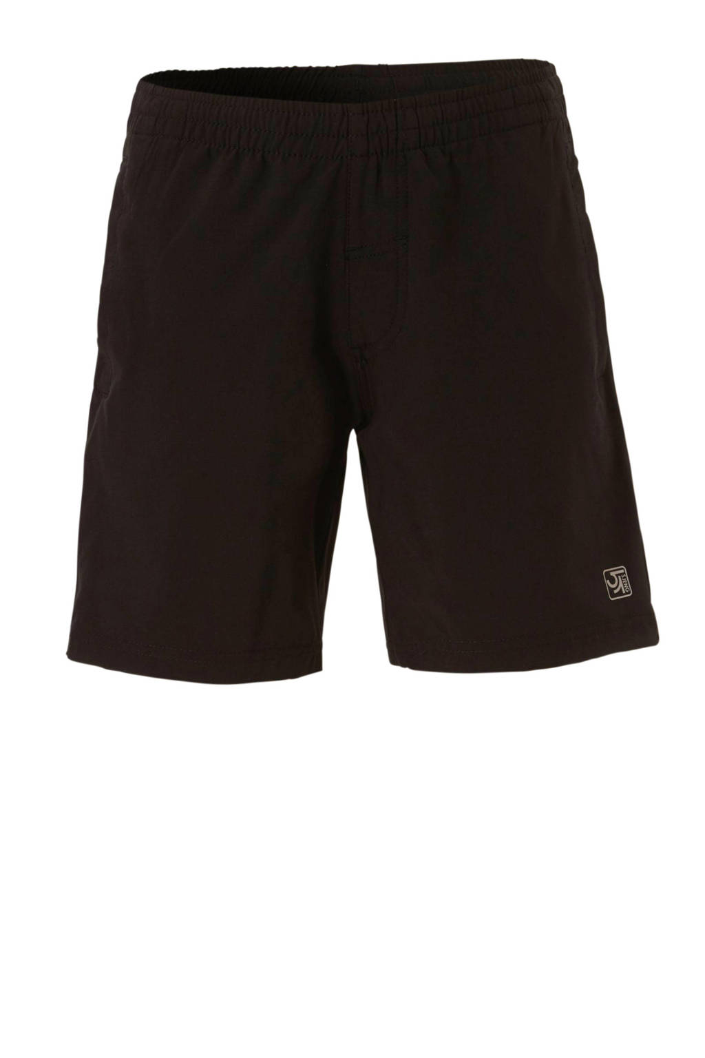 Sjeng Sports   sportshort Set jr zwart, Zwart
