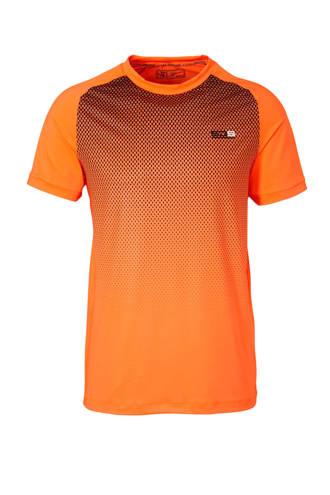 performance sport T-shirt oranje