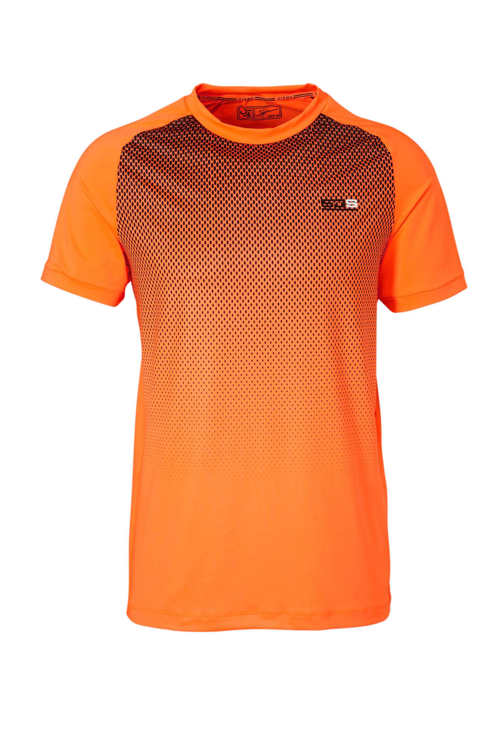 Sjeng Sports   performance sport T-shirt oranje, Oranje
