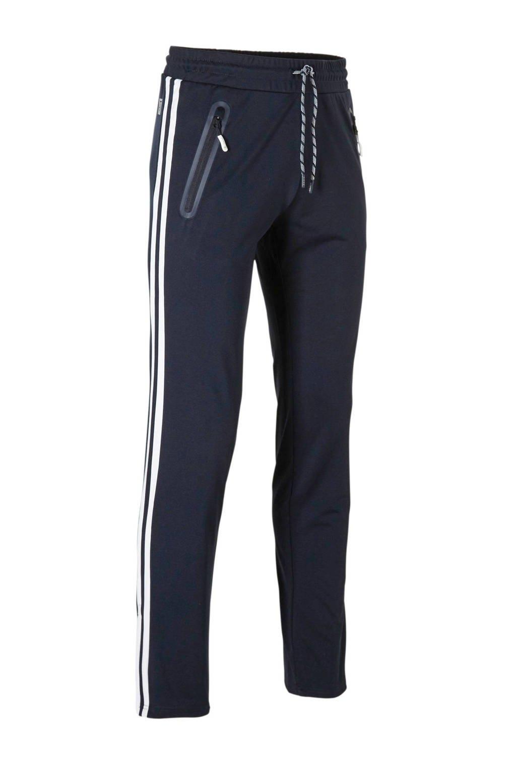 Sjeng Sports   sportbroek, Donkerblauw/wit