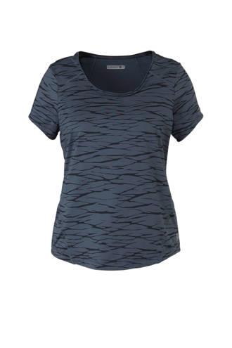 Plus T-shirt donkerblauw