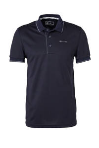 Sjeng Sports   polo Grand donkerblauw, Donkerblauw/zwart