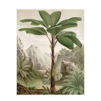 KEK Amsterdam behangpaneel Banana Tree (142,5x180 cm), Multi