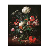 KEK Amsterdam behangpaneel Golden Age Flowers (142,5x180 cm), Multi