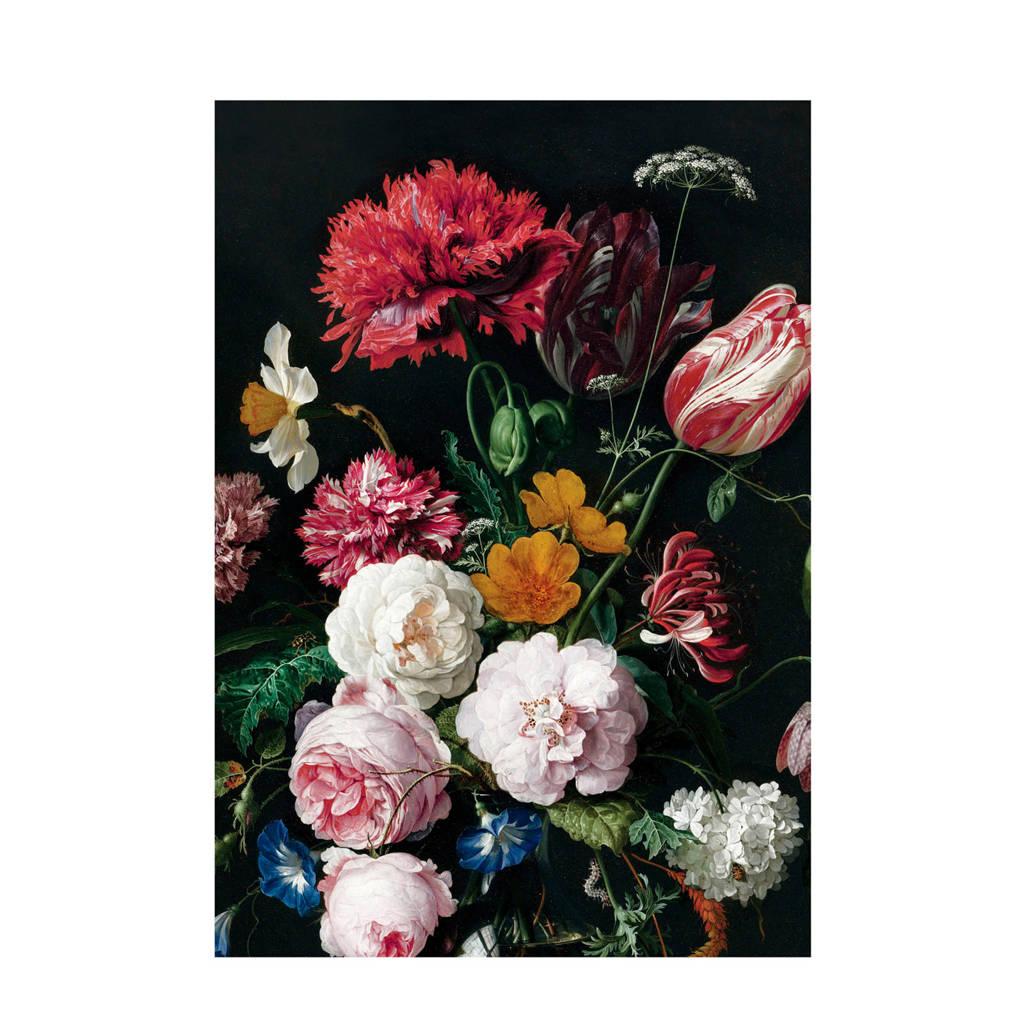 KEK Amsterdam fotobehang Golden Age Flowers (194,8x280 cm), Multi