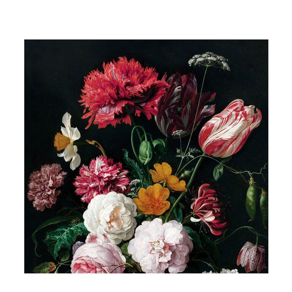 KEK Amsterdam fotobehang Golden Age Flowers II (6 banen), Multi