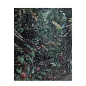 behangpaneel Tropical Landscape (142,5x180 cm)  ( cm)
