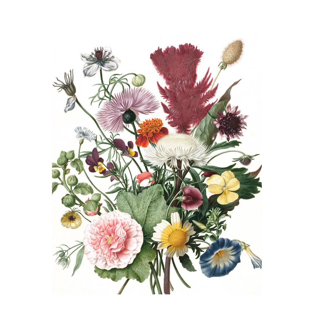 KEK Amsterdam behangpaneel Wild Flowers (142,5x180 cm), Multi