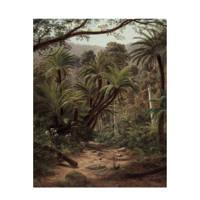 KEK Amsterdam behangpaneel Palm Trees (142,5x180 cm), Groen