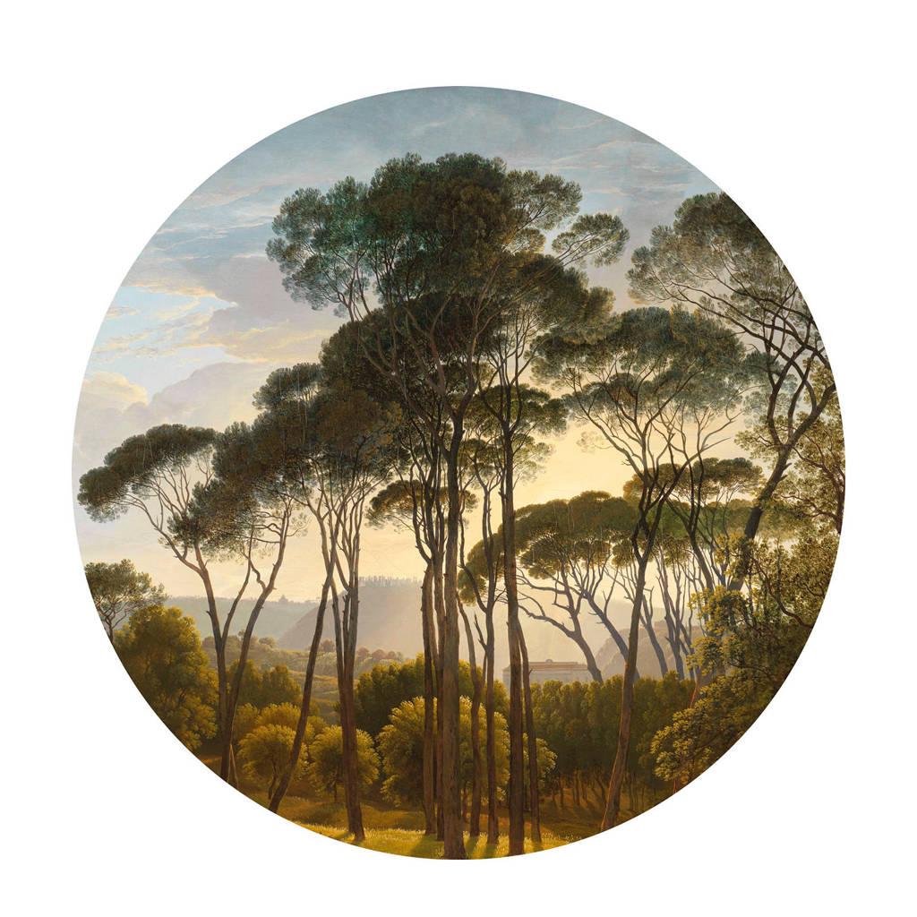 KEK Amsterdam behangcirkel Golden Age Landscape (Ø190 cm), Multi