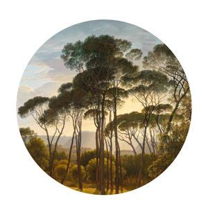 behangcirkel Golden Age Landscape (Ø190 cm)  ( cm)