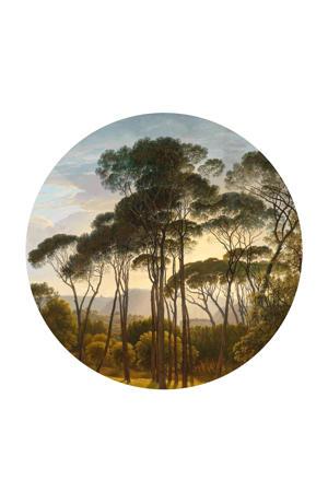 behangcirkel Golden Age Landscape (Ø190 cm)