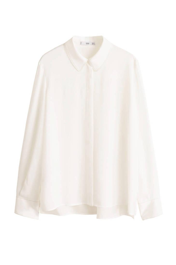 Mango blouse wit Mango wit blouse wqFvCCY