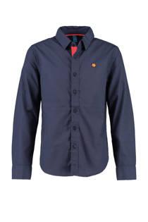 CKS KIDS katoenen overhemd donkerblauw (jongens)