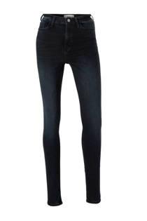 Mango high waist skinny jeans dark denim (dames)