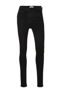 Mango high waist skinny jeans zwart (dames)