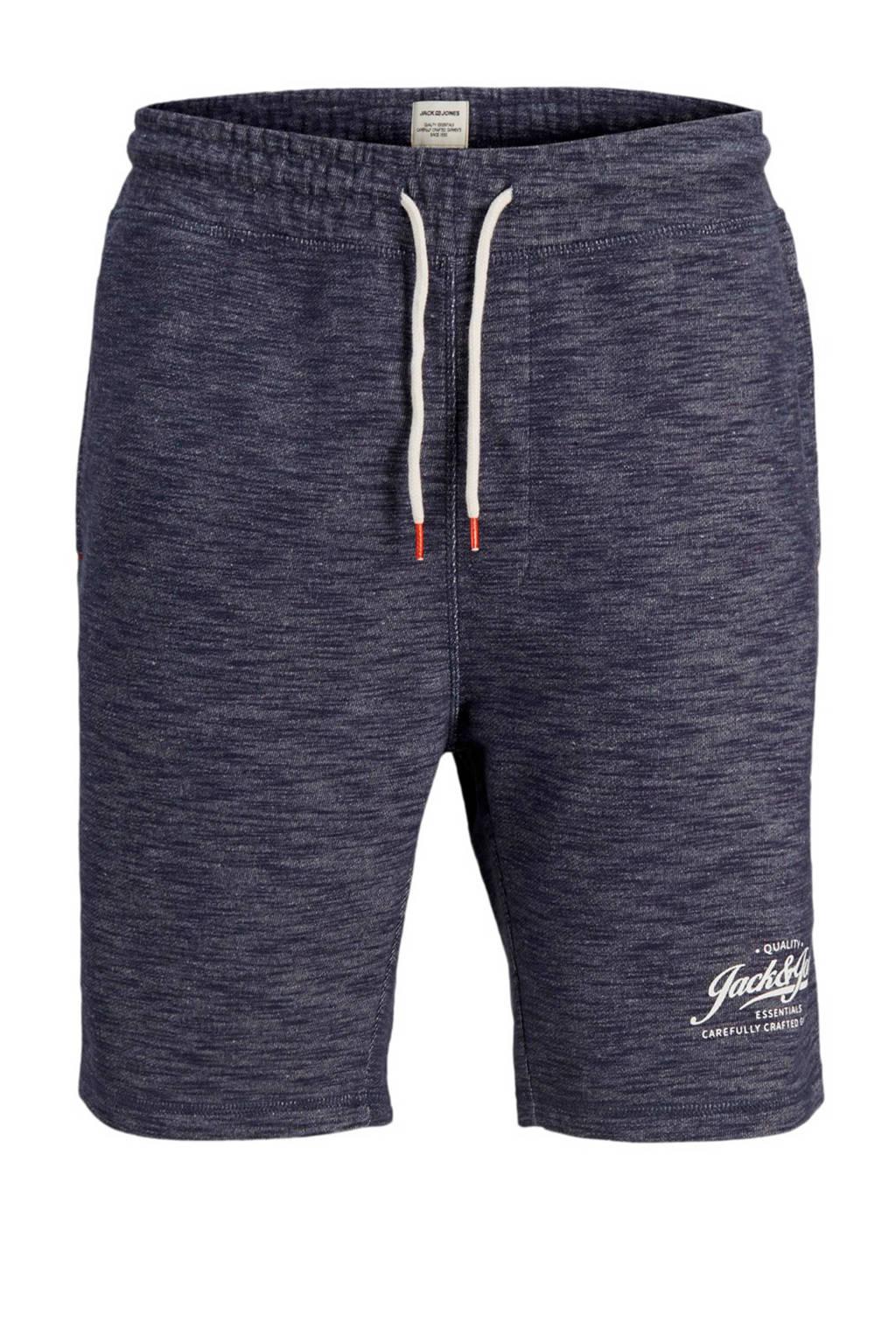 Jack & Jones Plus Size sweat short, Donkerblauw