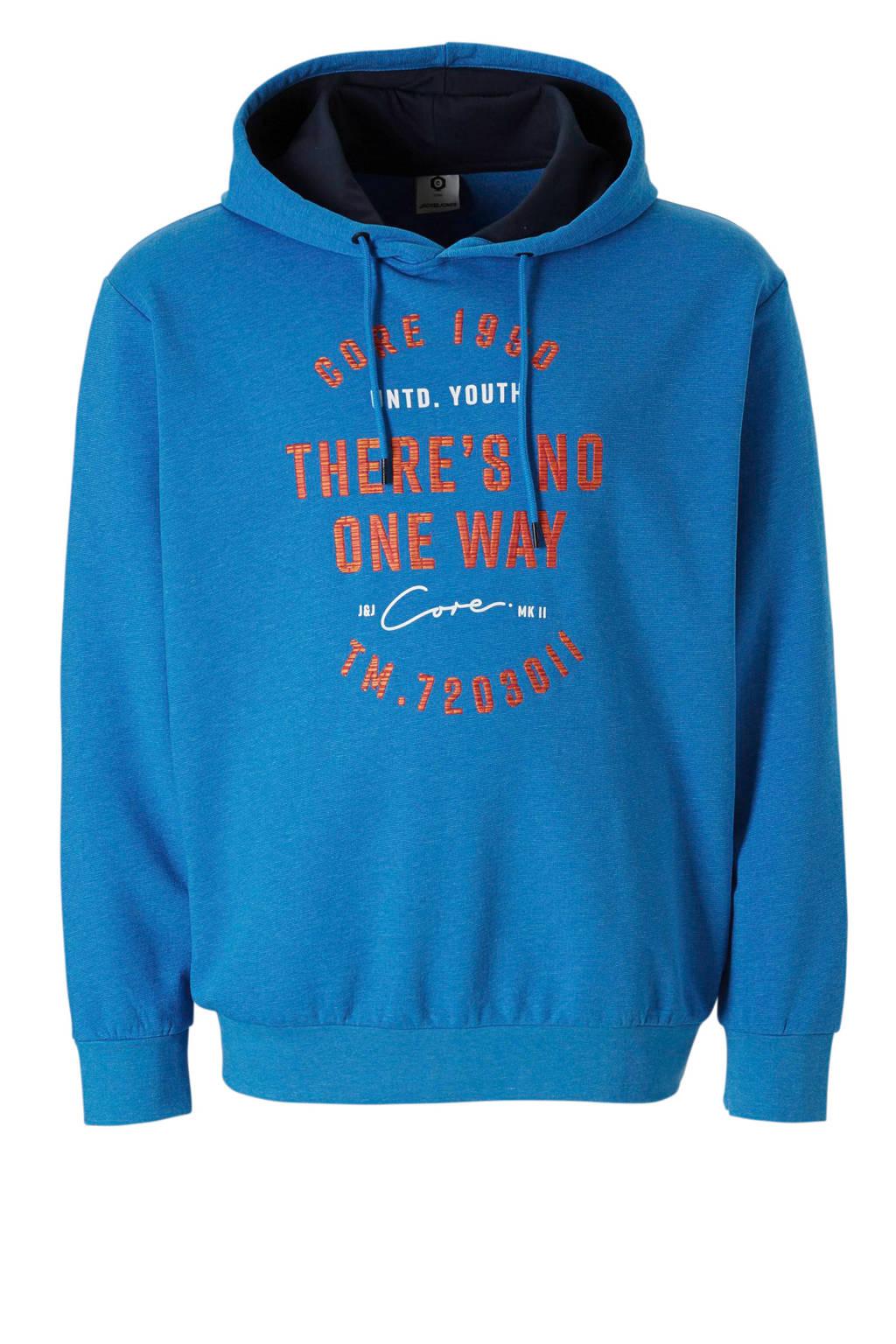 Jack & Jones Plus Size hoodie James, Blauw