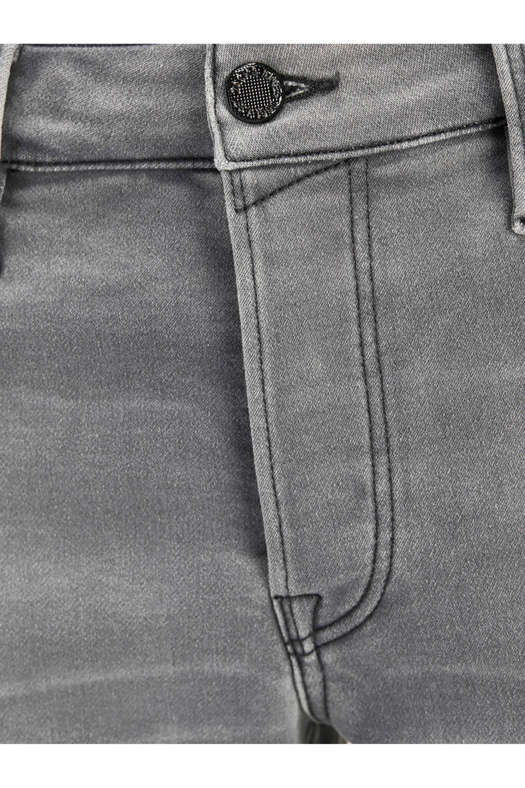 Jack & Jones Plus Size regular fit jeans short, Grijs