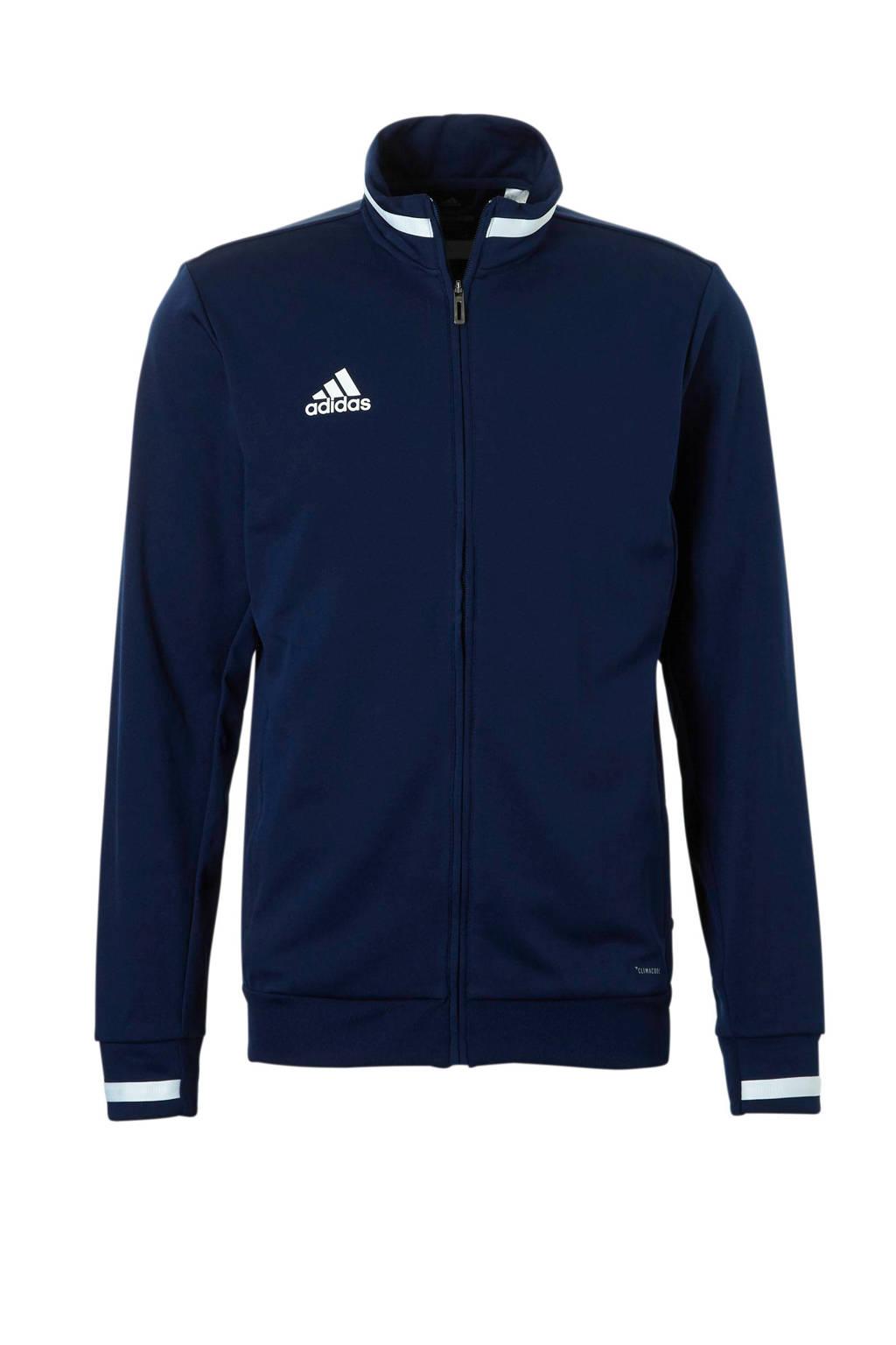 adidas performance   sportvest donkerblauw, Donkerblauw