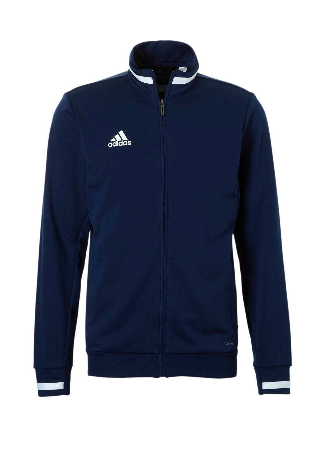 adidas Performance   sportvest T19 donkerblauw, Donkerblauw