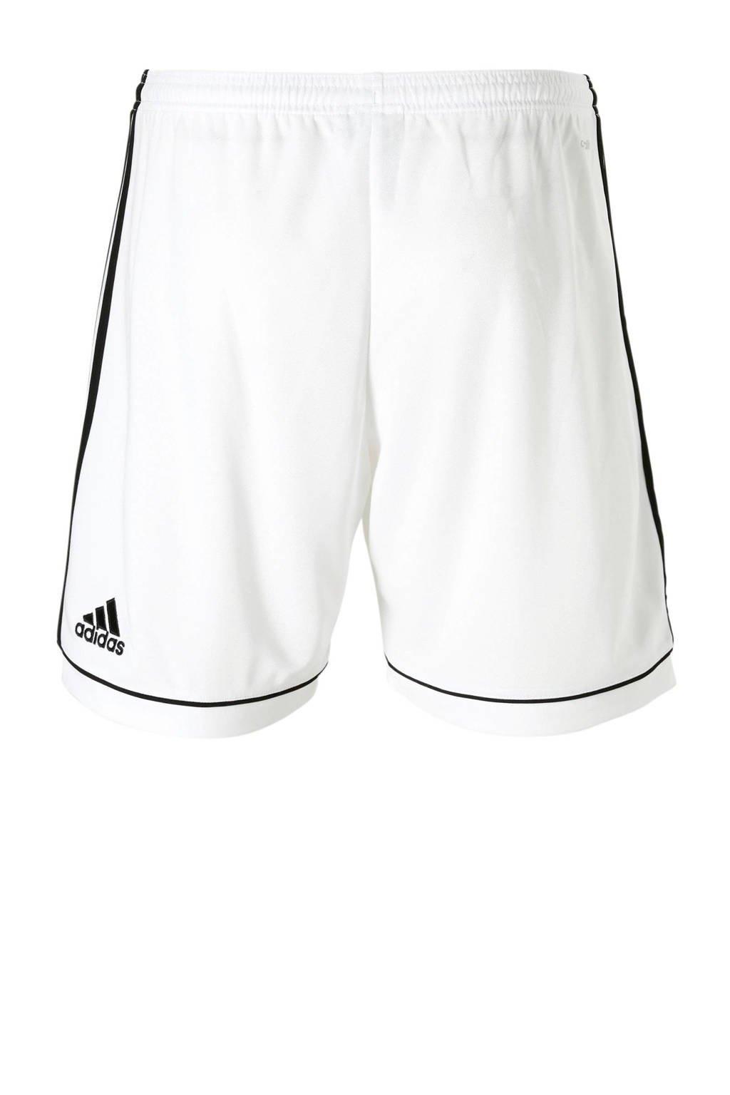 adidas   sportshort Squad wit/zwart, Wit/zwart