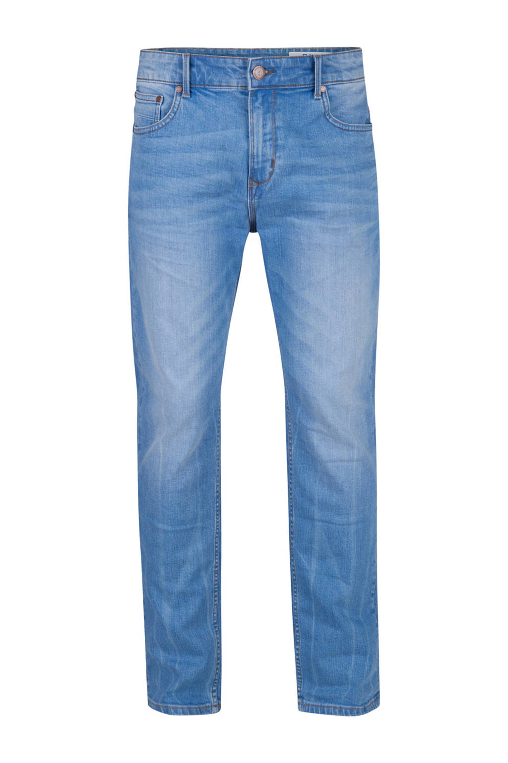WE Fashion Blue Ridge  tapered tapered fit jeans, Light denim