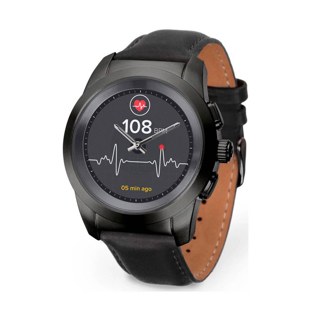 MyKronoz ZeTime smartwatch, Zwart
