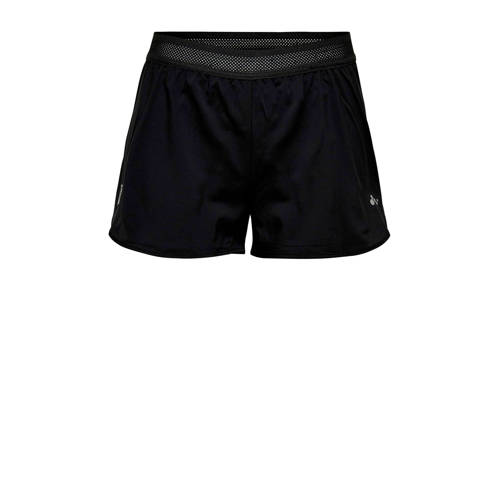 Only Play sportshort zwart