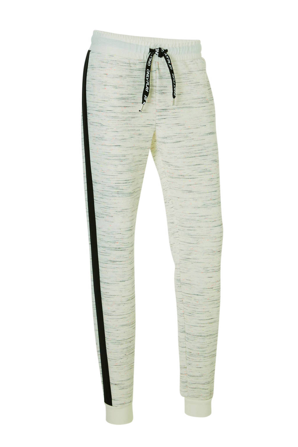 Only Play joggingbroek, Wit/zwart