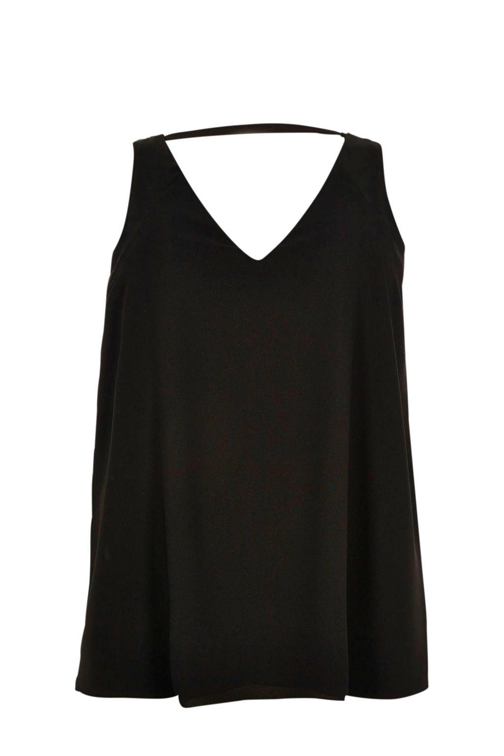 River Island Plus top, Zwart