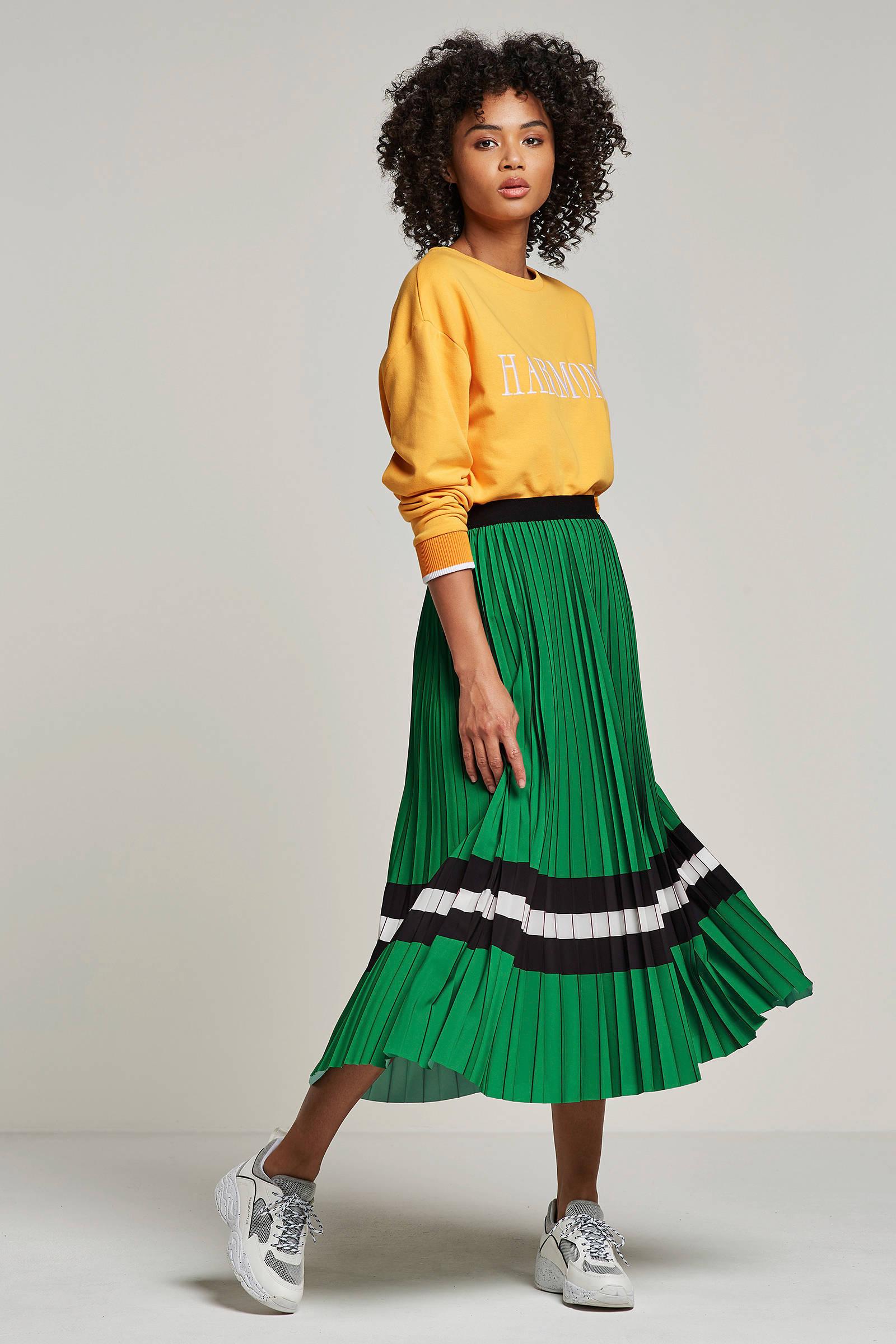 Junkie Catwalk Sweater Tekstopdruk Geel Dameskleding Met PTiuZOkX
