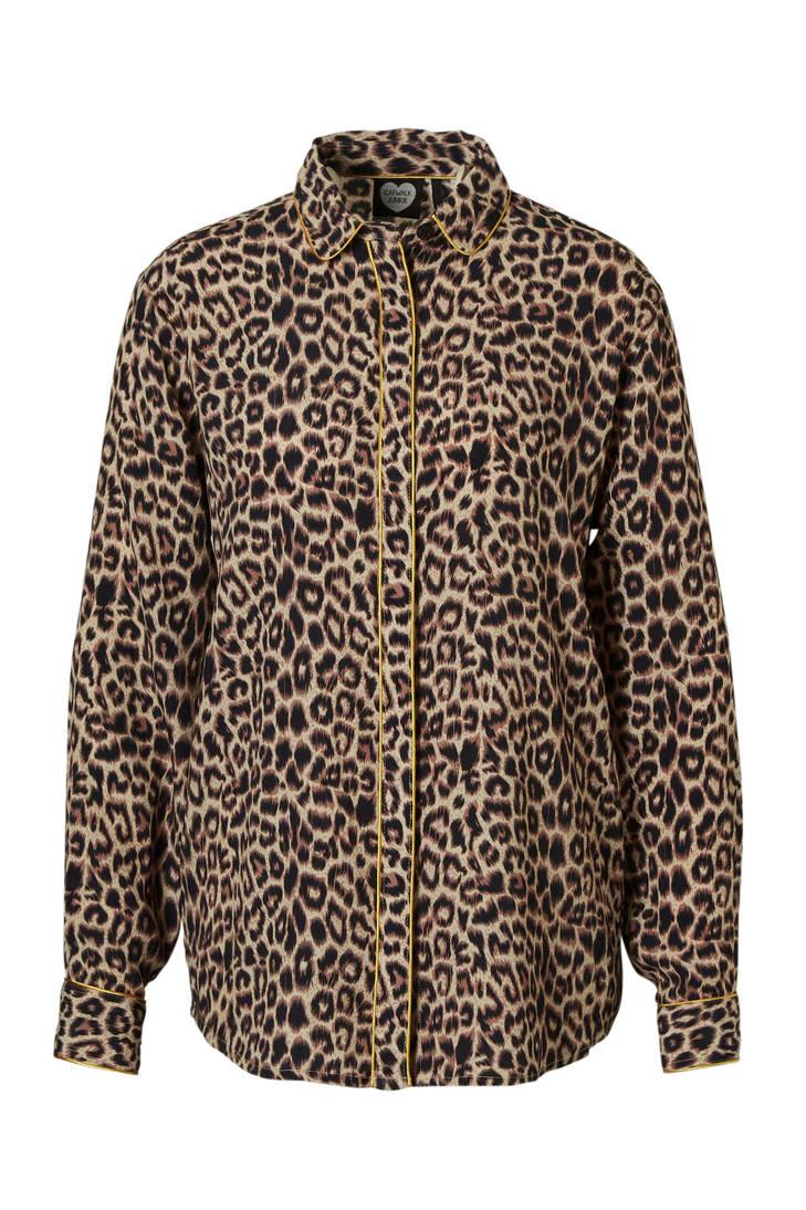Junkie met panterprint Junkie panterprint met Catwalk blouse Catwalk blouse qHXTSfH0w