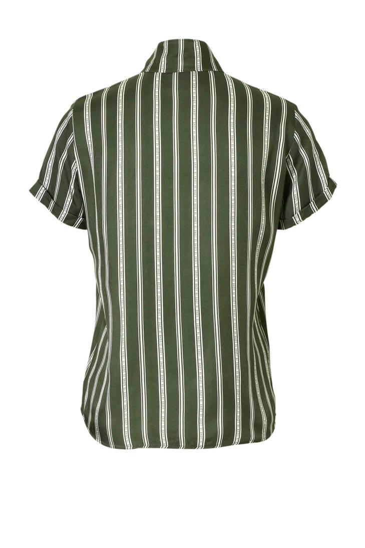 groen blouse Junkie Catwalk blouse gestreepte Junkie Catwalk Catwalk groen gestreepte Iqgz6z