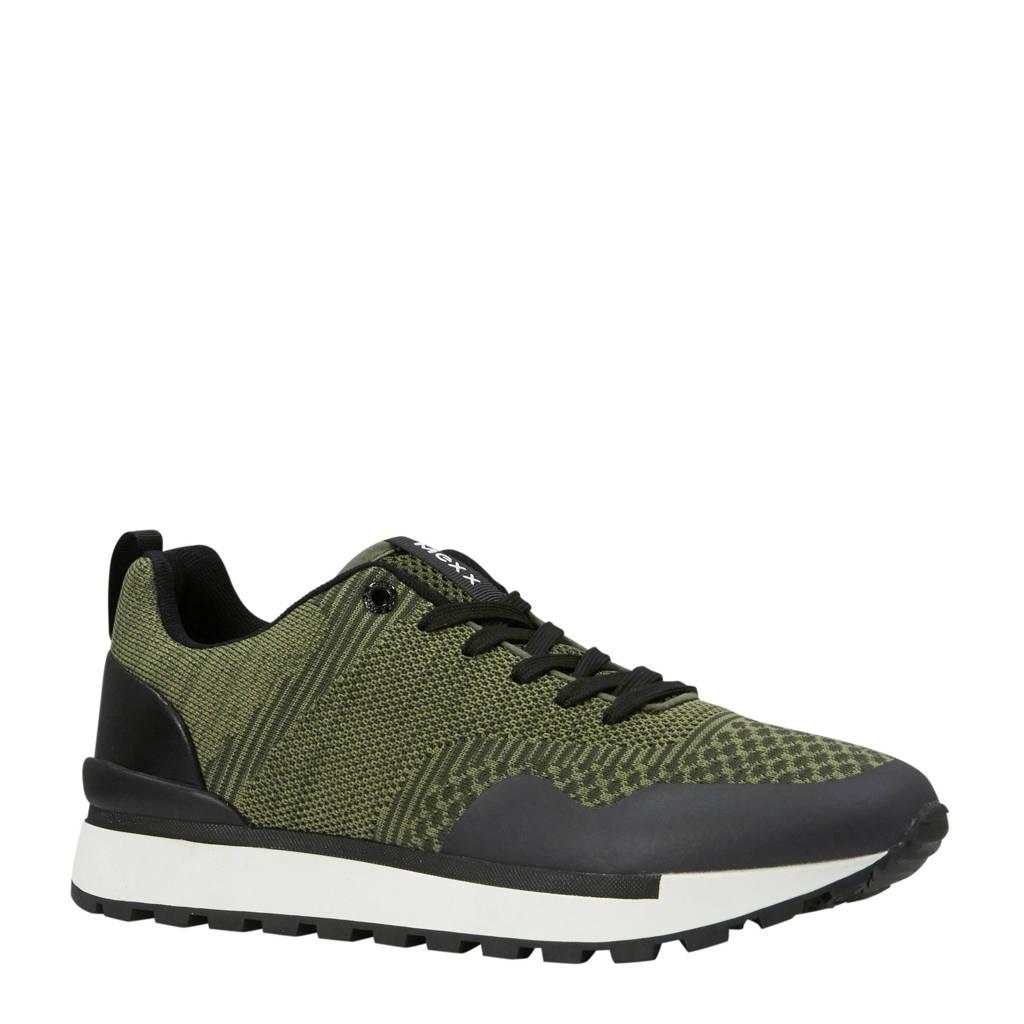 Mexx  Briam sneakers olijfgroen, Olijfgroen