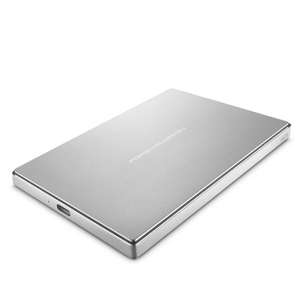LaCie 1TB PORSCHE DESI externe harde schijf, Zilver