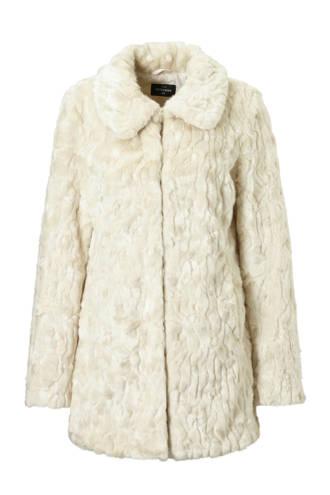 The Outerwear jas van imitatiebont