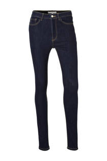 Mango 5 pocket skinny jeans dark denim (dames)