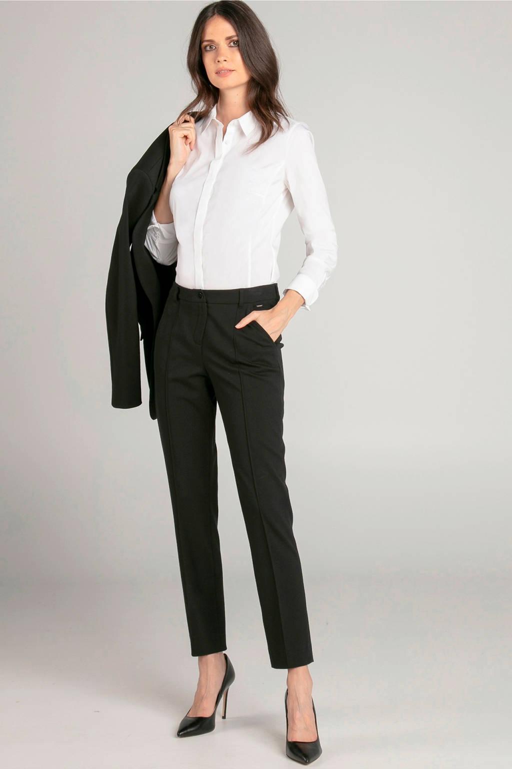 Claudia Sträter blouse wit, Wit
