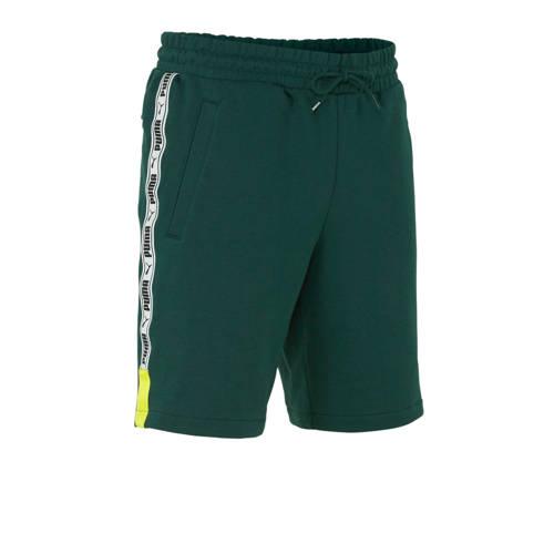 Puma XTG short met zijstreep groen