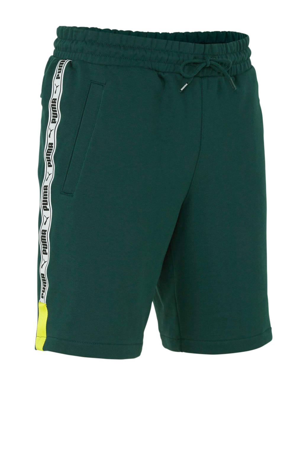 Puma   XTG short met zijstreep groen, Groen