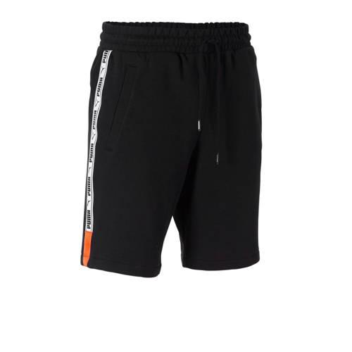 Puma XTG short met zijstreep zwart