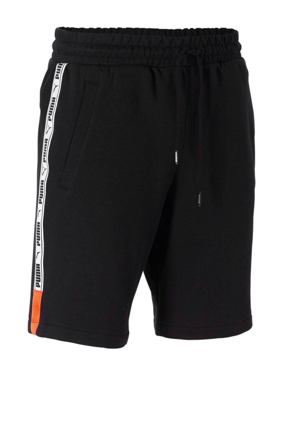 Puma   XTG short met zijstreep zwart, Zwart