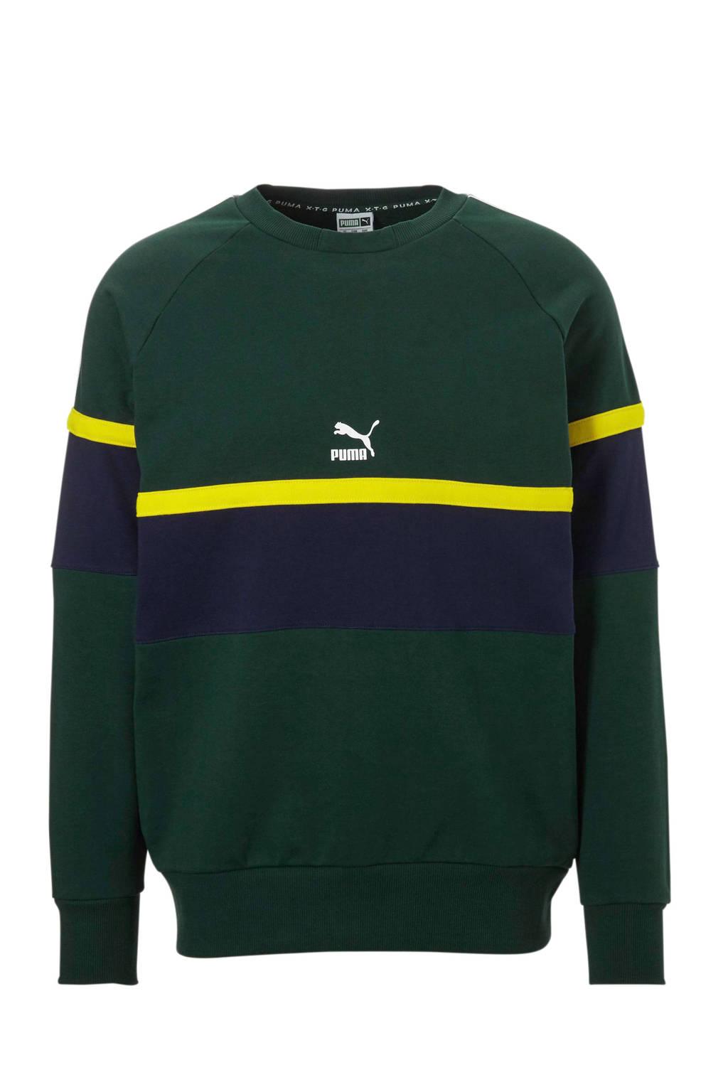 Puma   sportsweater groen, Groen