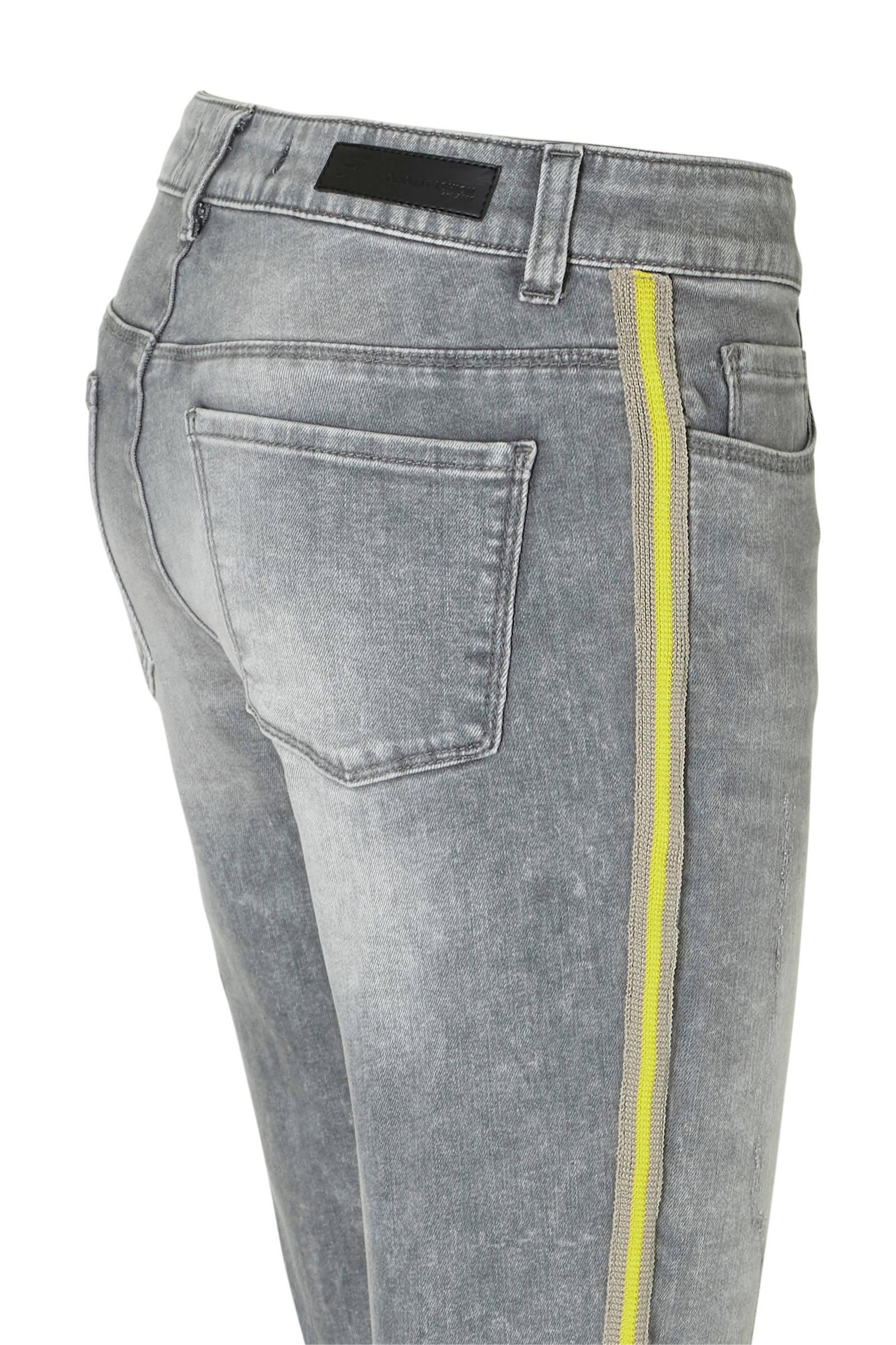 Geisha skinny jeans grijs